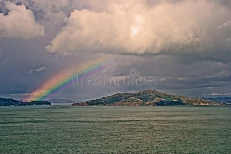 Download Rainbow Over San Francisco Bay Stock Image - Image: 2983779