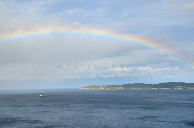 Download Rainbow Over Sea No.2 Royalty Free Stock Photo - Image: 7613785