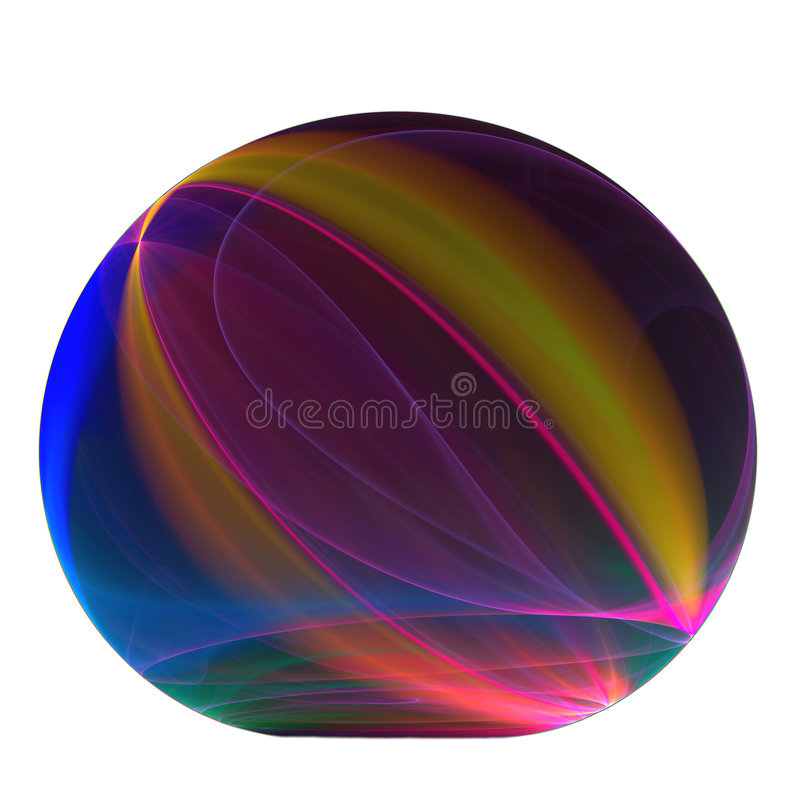 Download Rainbow paperweight stock illustration. Image of blue - 4747115