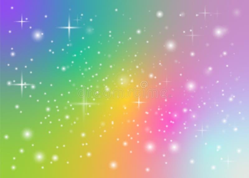 Rainbow pastel background stock illustration. Illustration ...