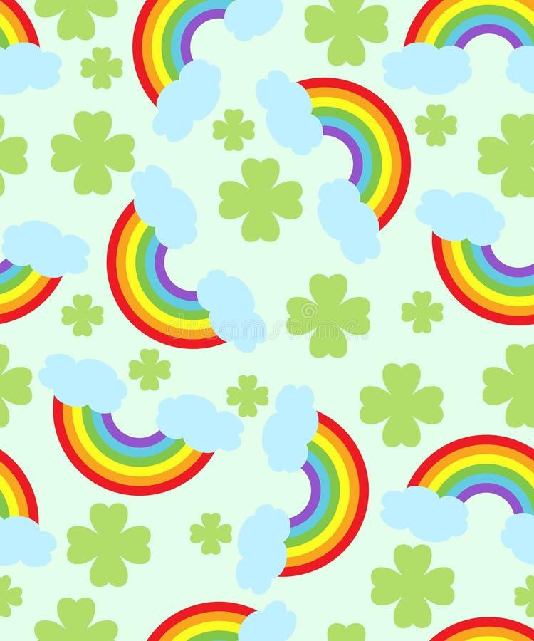 Rainbow pattern stock photo
