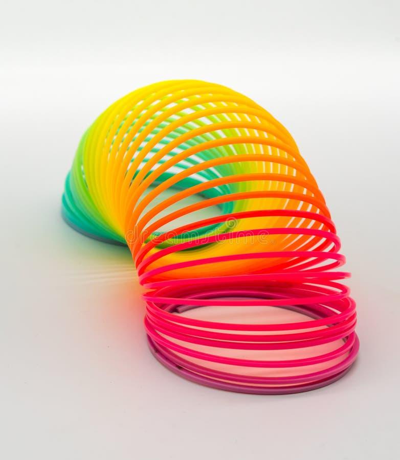 Rainbow Plastic Spring