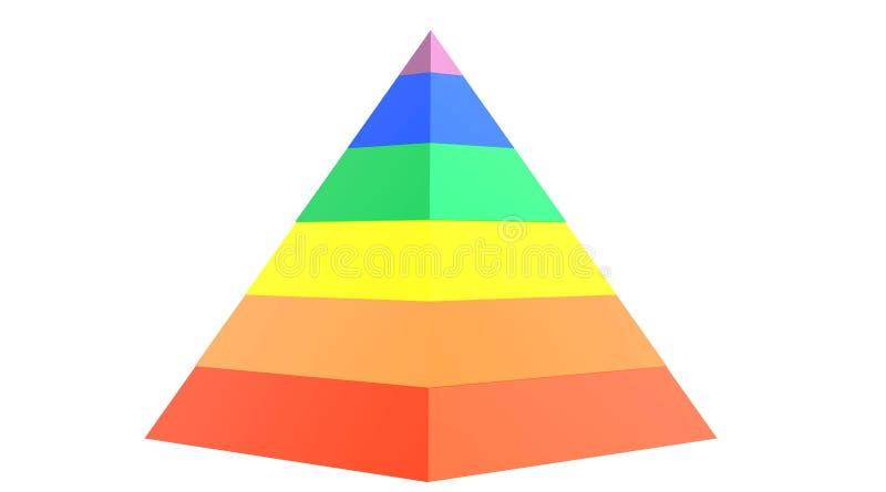 Download Rainbow pyramid stock illustration. Image of lesbian - 10763258