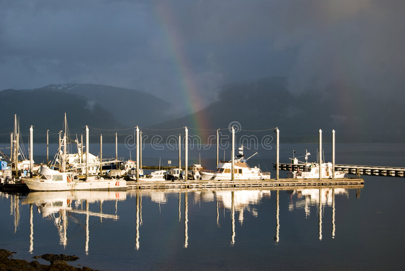 Rainbow Reflections Royalty Free Stock Images