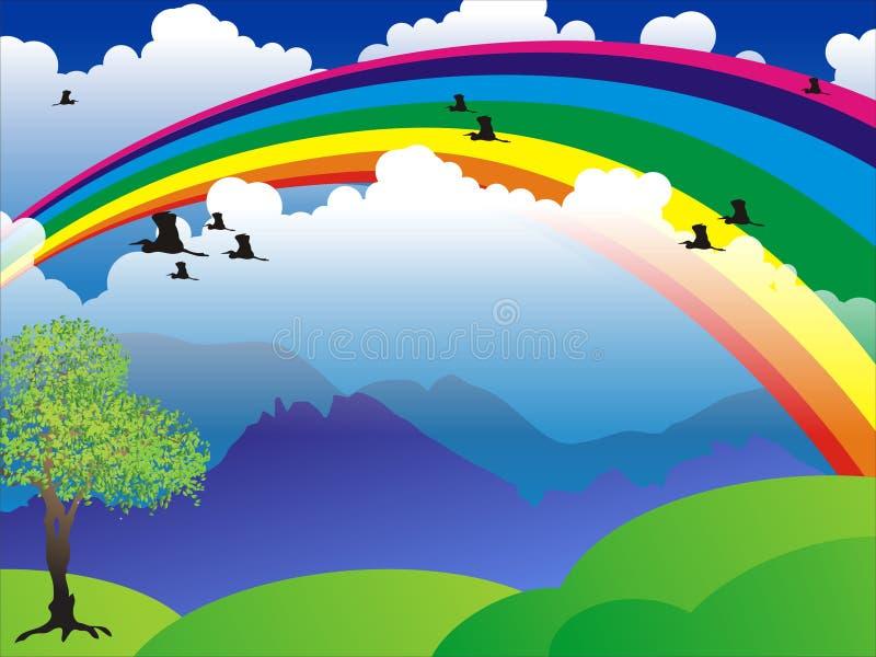 Download Rainbow Scenery Royalty Free Stock Photos - Image: 14181408