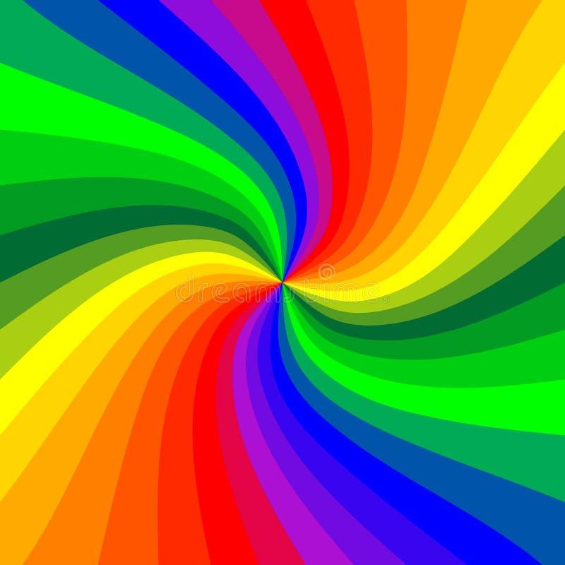 Rainbow stripe background stock vector. Illustration of ...