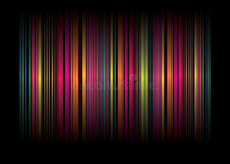 Rainbow Stripe Bg Royalty Free Stock Photo