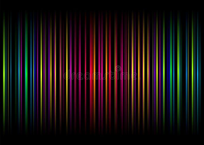 rainbow stripe vert απεικόνιση αποθεμάτων