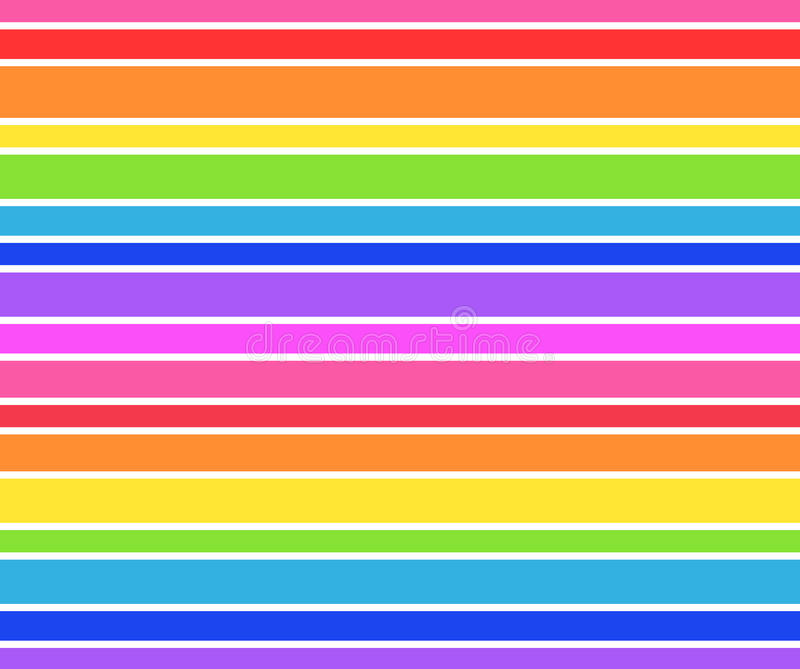 Rainbow striped background stock illustration image of happy 64686117 for Rainbow color stripe watch