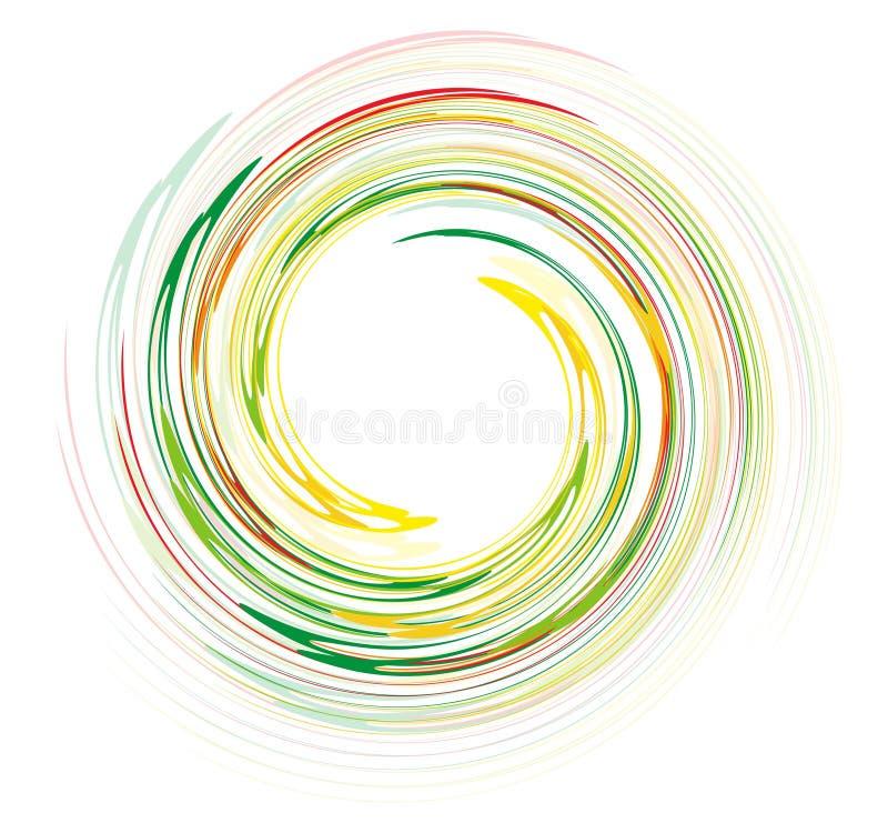 Download Rainbow Swirl Design Stock Photo - Image: 14598790