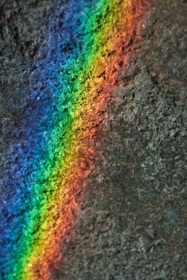 Download Rainbow on the wall stock image. Image of rainbow, decomposition - 26321659