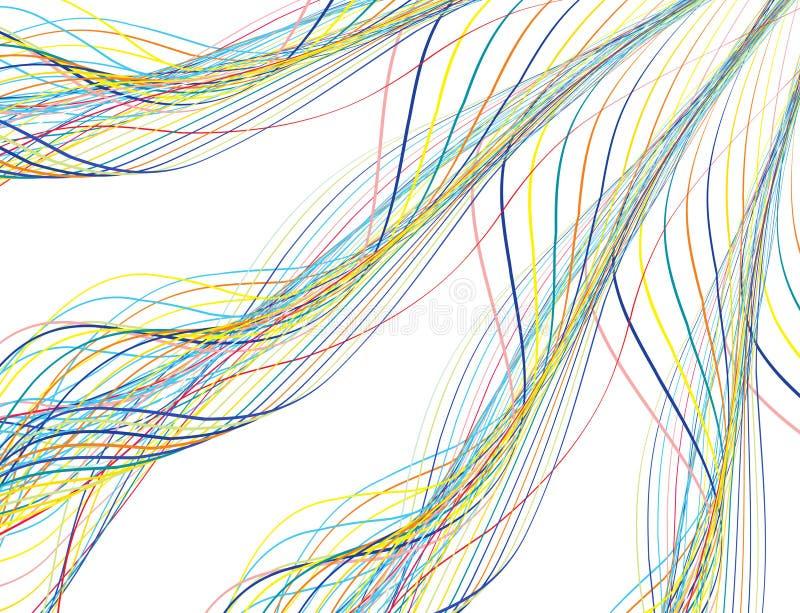 rainbow wave απεικόνιση αποθεμάτων