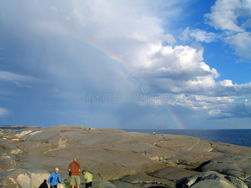 Rainbow? What rainbow? royalty free stock images