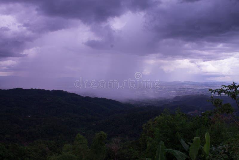 raincloud 免版税库存照片