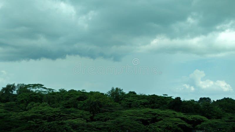 Rainclouds3 图库摄影