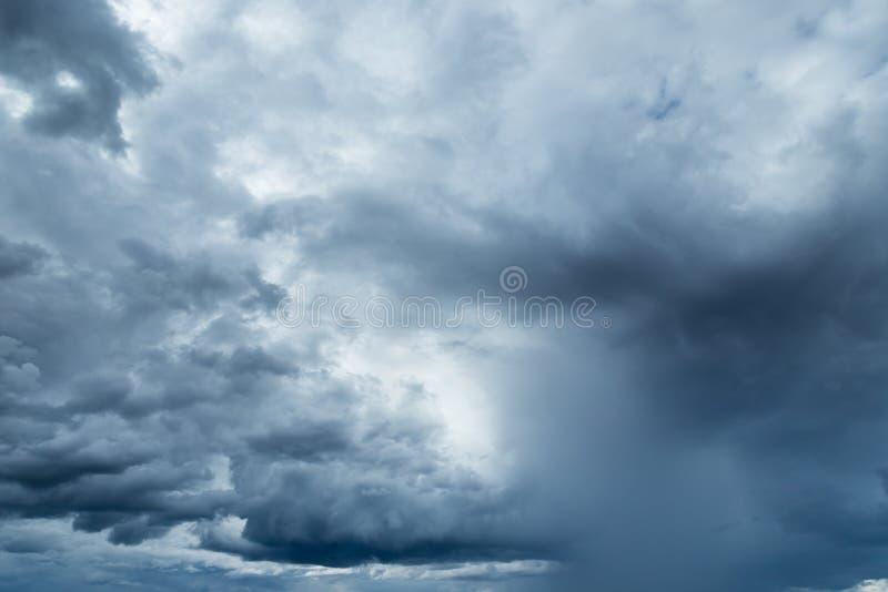 Rainclouds or Nimbus stock image