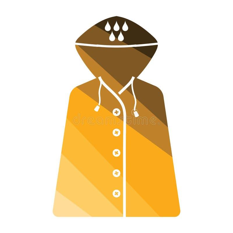 Raincoat icon vector illustration
