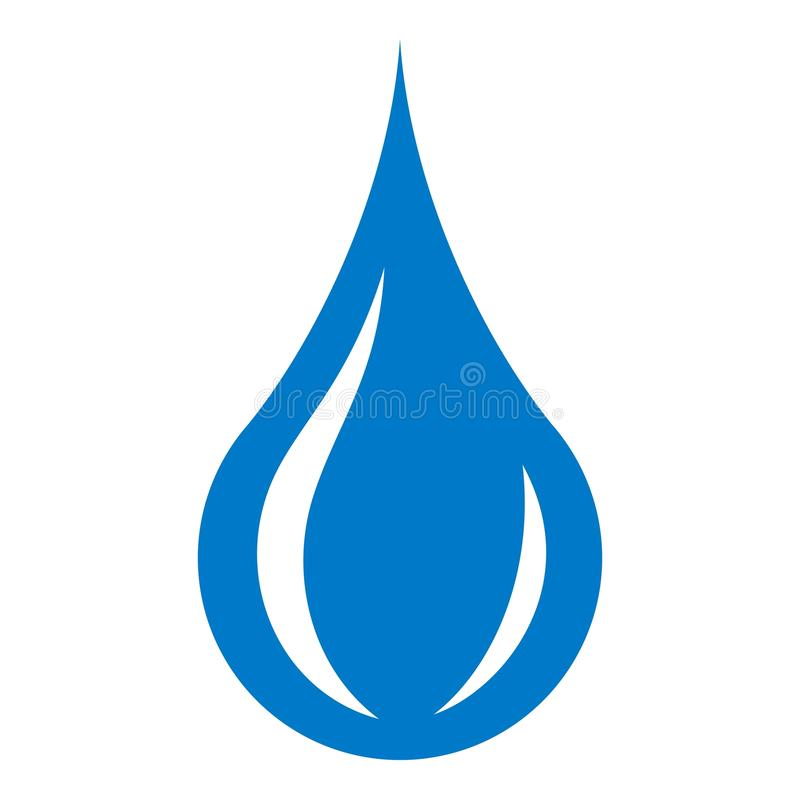 raindrop icon simple style stock vector illustration of droplet rh dreamstime com raindrop vector image raindrop vector image