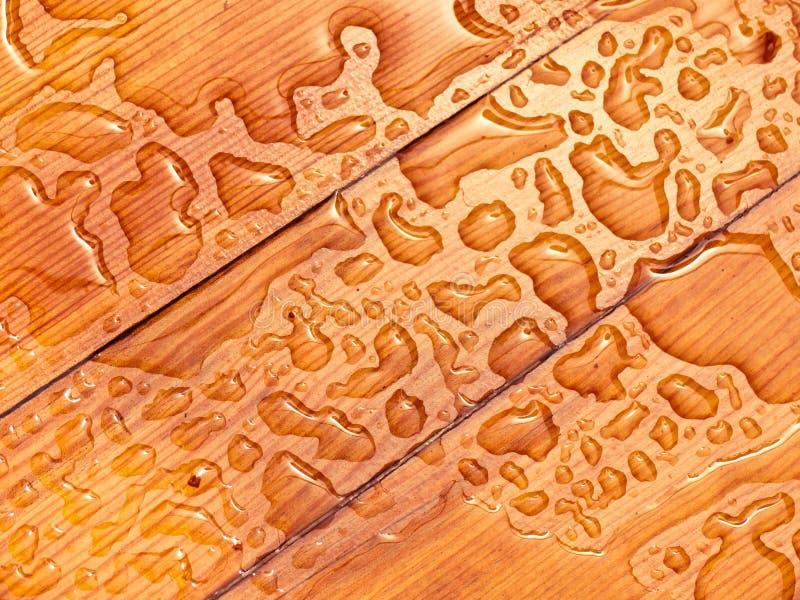 raindrops картины доски деревянные стоковое изображение