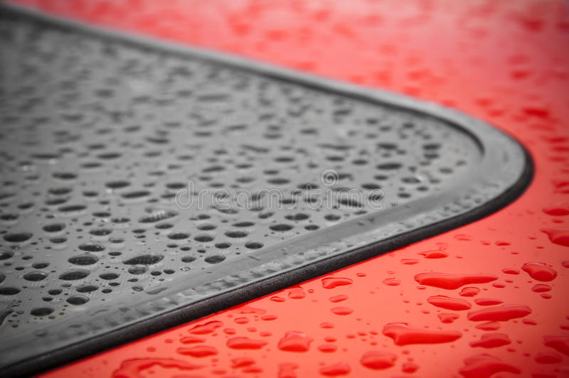 Download Raindrops stock photo. Image of curve, water, part, raindrop - 13707476