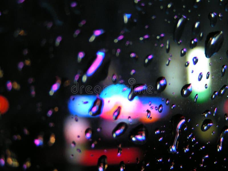 raindrops arkivbild