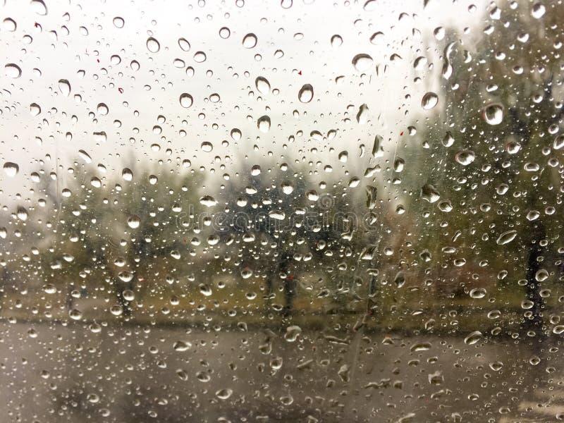 raindrops chover imagem de stock