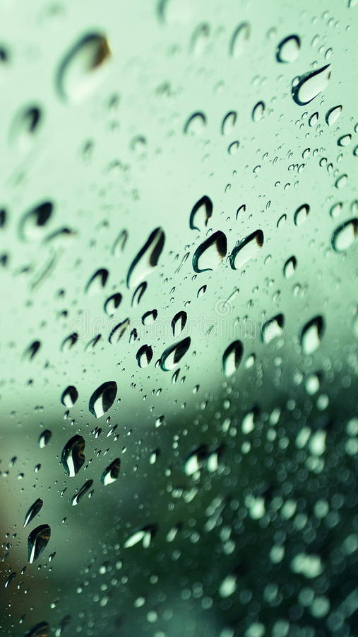 Download Raindrops on glass stock photo. Image of cloudly, drops - 27357482