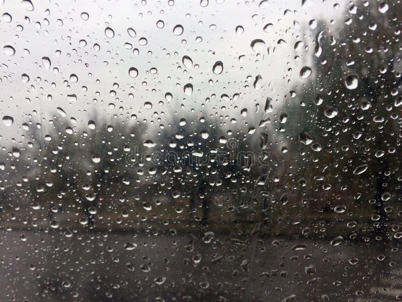 raindrops raining foto de archivo