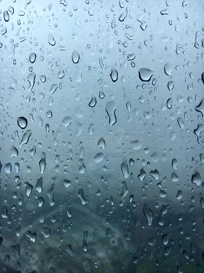 Raindrops windows royalty free stock images