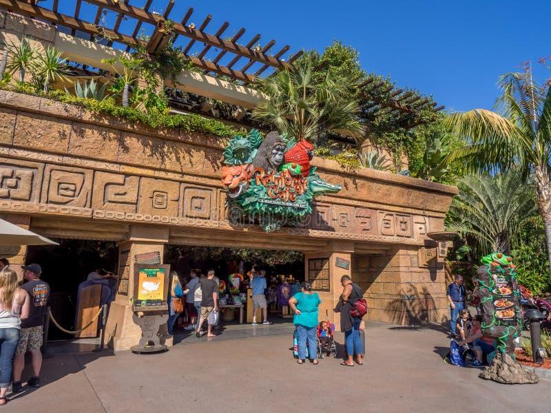 Rainforest Cafe Downtown Disney Anaheim Prices