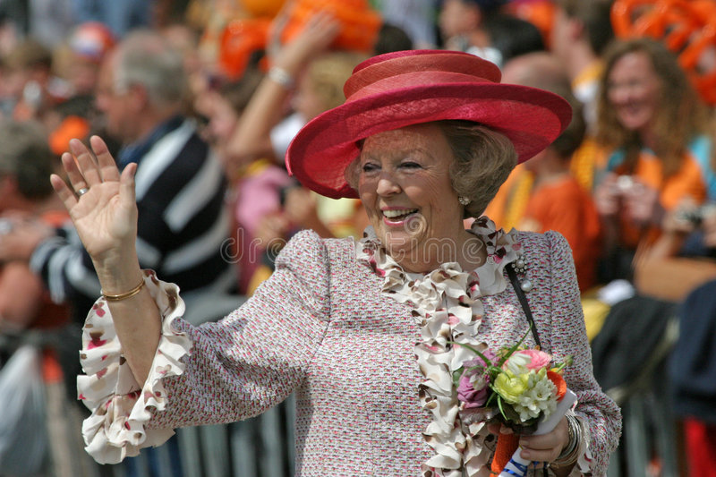 Rainha Beatrix fotografia de stock royalty free