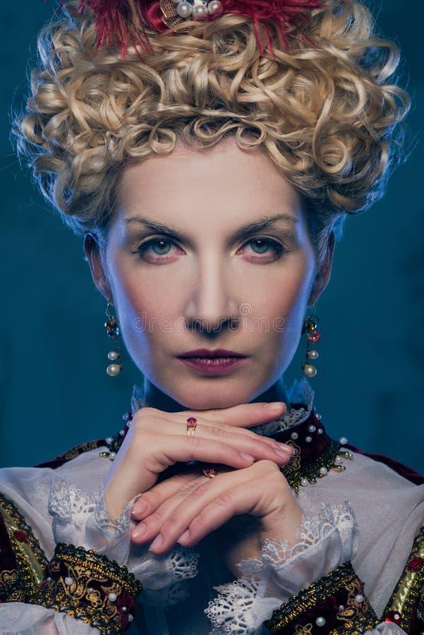 Rainha bonita imagem de stock royalty free