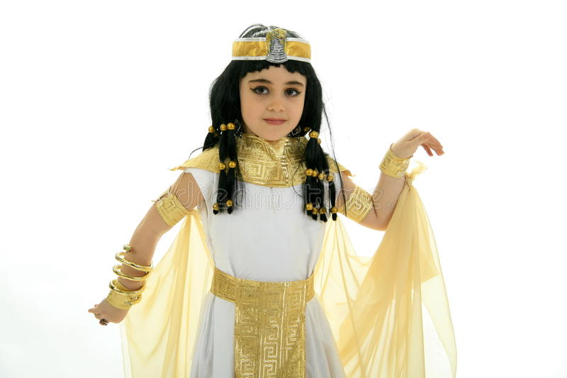 Rainha Cleopatra foto de stock royalty free