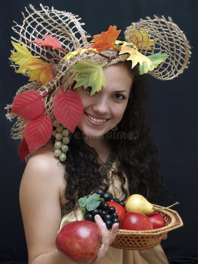 Rainha da colheita foto de stock royalty free