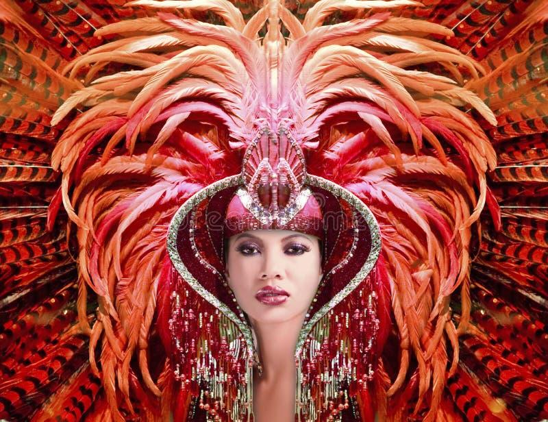 Rainha do carnaval imagem de stock