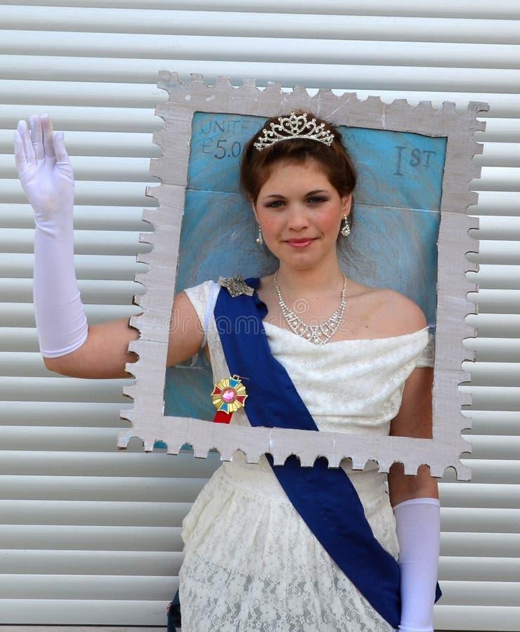 Rainha do selo de Inglaterra fotos de stock royalty free
