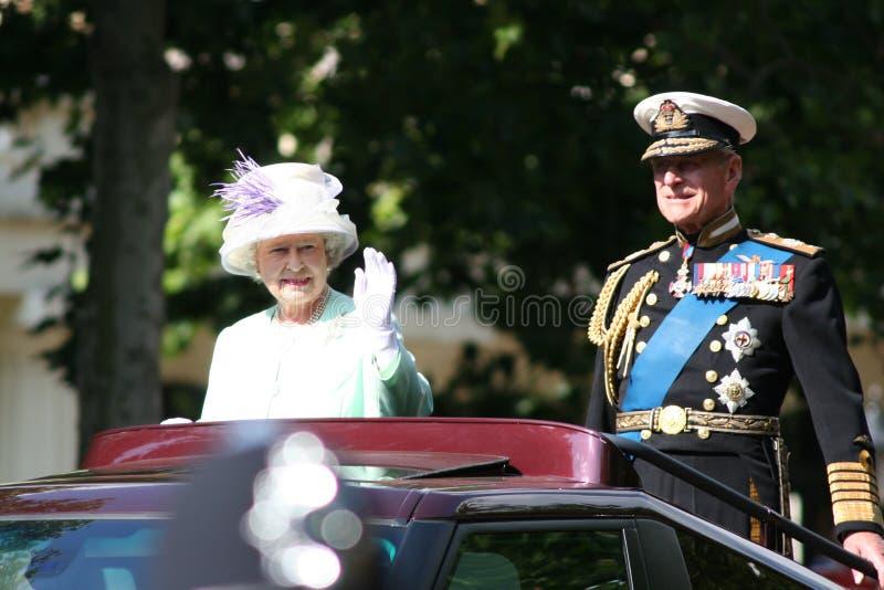 Rainha Elizabeth foto de stock royalty free