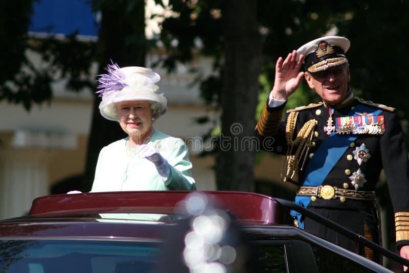 Rainha Elizabeth fotos de stock royalty free