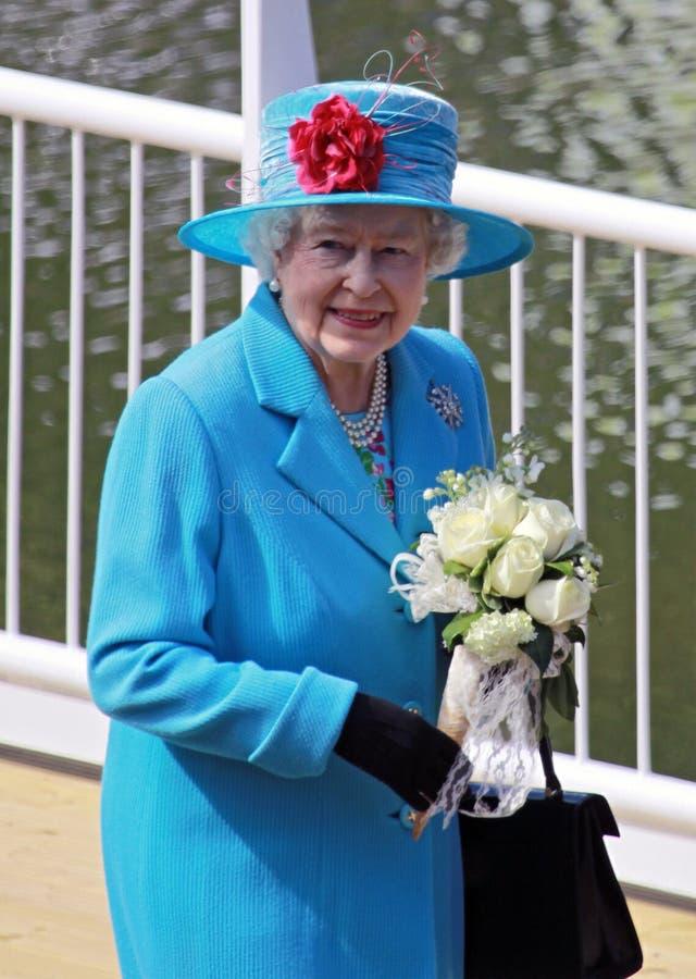 Rainha Elizabeth II fotos de stock royalty free