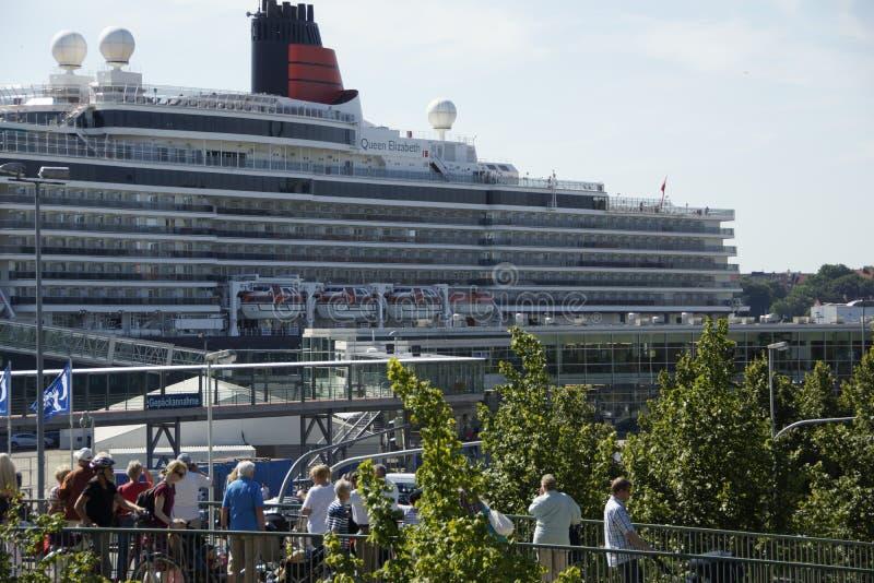 A rainha em Kiel fotografia de stock