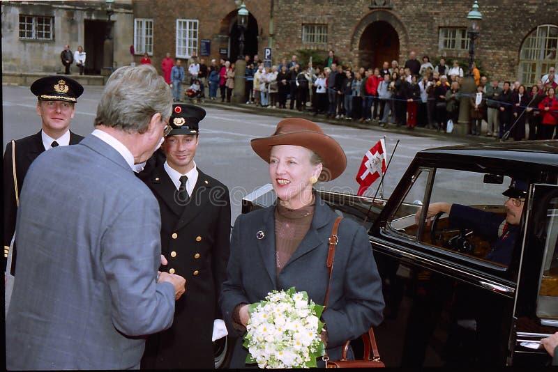 Rainha Margrethe de Dinamarca imagem de stock