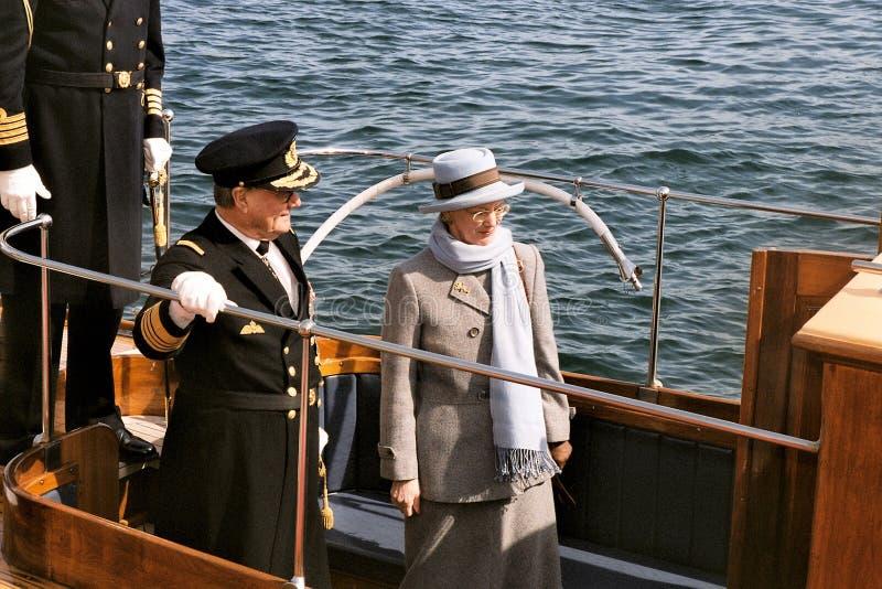 RAINHA MARGRETHE II E PRÍNCIPE HENRIK DINAMARCA fotos de stock