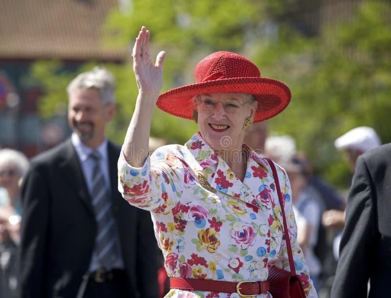 Rainha Margrethe o ò fotografia de stock