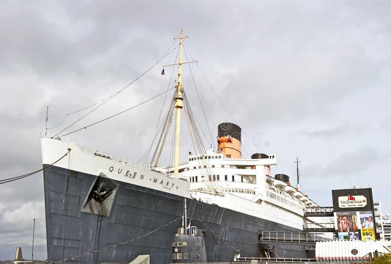 Rainha Mary Oceanliner do RMS imagens de stock