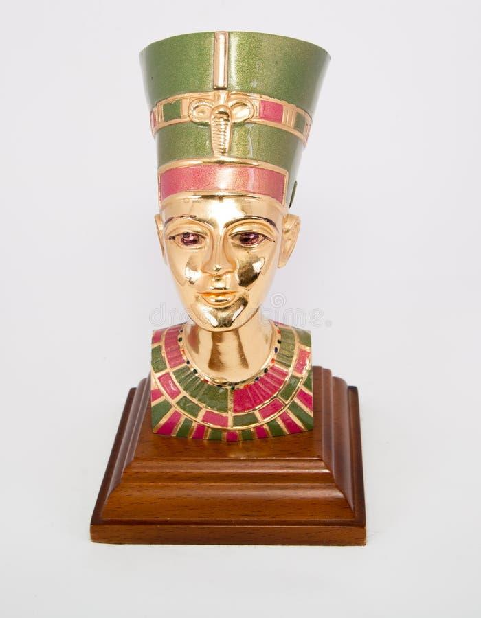 Rainha Nefertiti fotografia de stock