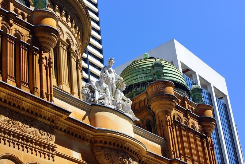 Rainha Victoria Building, Sydney, Austrália fotografia de stock