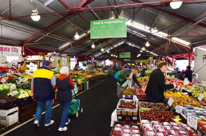 Rainha Victoria Market - Melbourne imagem de stock