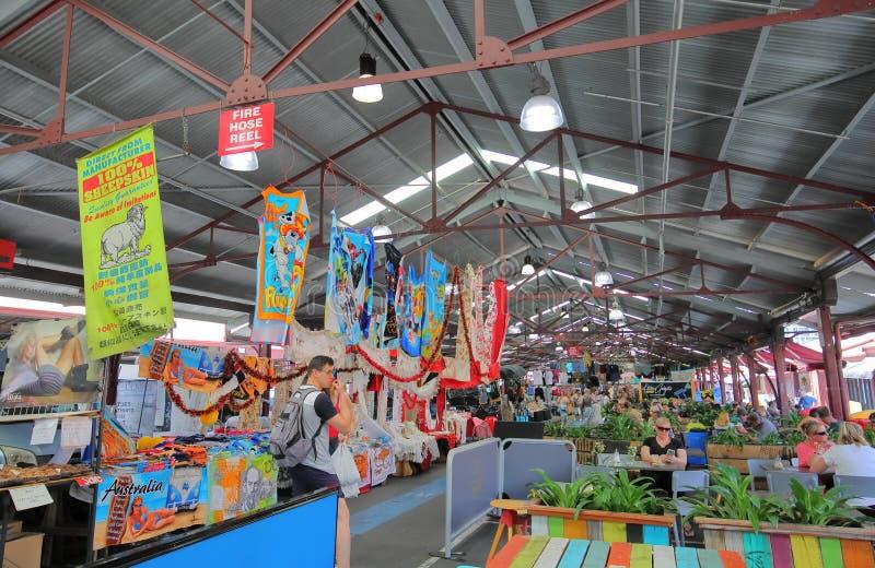 Rainha Victoria Market Melbourne Australia imagem de stock