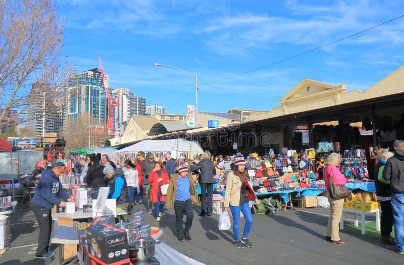Rainha Victoria Market Melbourne Australia imagens de stock