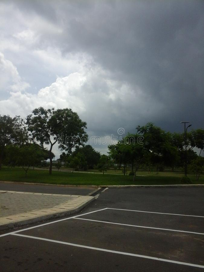 Raining clouds. Very near by for raining beautifully clouds get cool stock photo